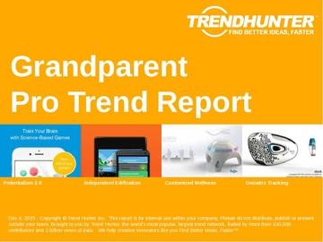 Grandparent Trend Report and Grandparent Market Research