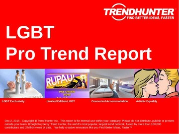 LGBT Trend Report and LGBT Market Research