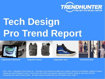 Tech Design Trend Report and Tech Design Market Research