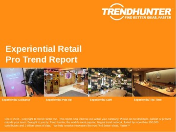Experiential Retail Trend Report and Experiential Retail Market Research