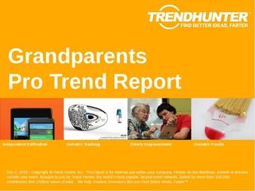 Grandparents Trend Report and Grandparents Market Research