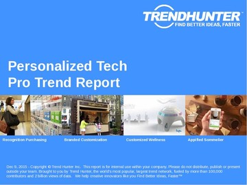 Personalized Tech Trend Report and Personalized Tech Market Research
