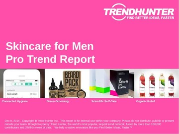 Skincare for Men Trend Report and Skincare for Men Market Research