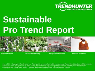 Sustainable Trend Report and Sustainable Market Research