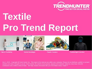 Textile Trend Report and Textile Market Research