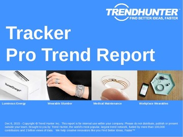 Tracker Trend Report and Tracker Market Research