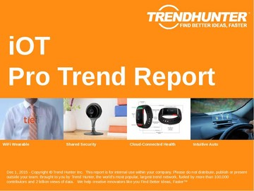 iOT Trend Report and iOT Market Research