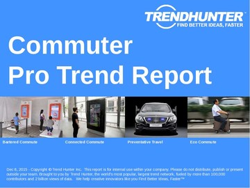 Commuter Trend Report and Commuter Market Research