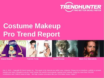 Costume Makeup Trend Report and Costume Makeup Market Research