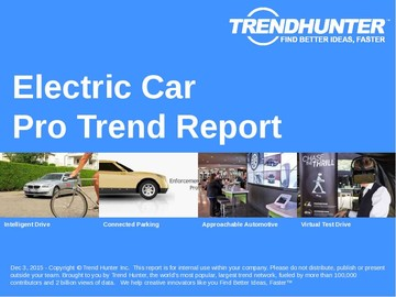 Electric Car Trend Report and Electric Car Market Research