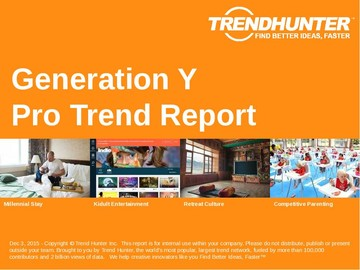 Generation Y Trend Report and Generation Y Market Research