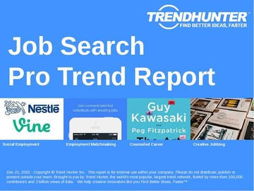 Job Search Trend Report and Job Search Market Research