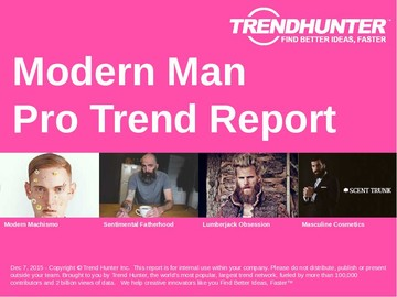 Modern Man Trend Report and Modern Man Market Research