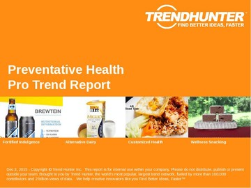 Preventative Health Trend Report and Preventative Health Market Research