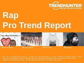 Rap Trend Report and Rap Market Research