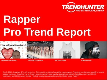Rapper Trend Report and Rapper Market Research