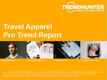 Travel Apparel Trend Report and Travel Apparel Market Research