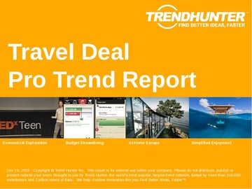 Travel Deal Trend Report and Travel Deal Market Research