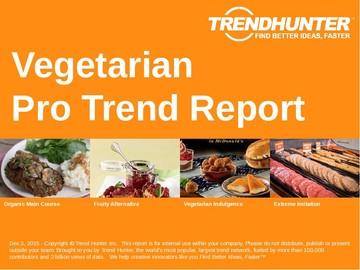 Vegetarian Trend Report and Vegetarian Market Research