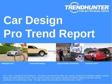 Car Design Trend Report and Car Design Market Research