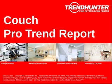 Couch Trend Report and Couch Market Research