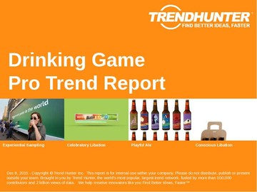 Drinking Game Trend Report and Drinking Game Market Research