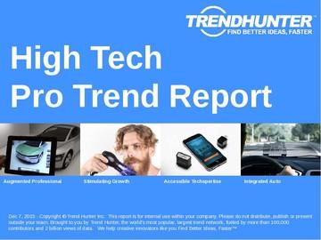 High Tech Trend Report and High Tech Market Research