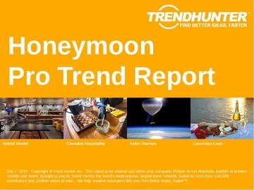 Honeymoon Trend Report and Honeymoon Market Research
