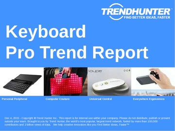 Keyboard Trend Report and Keyboard Market Research