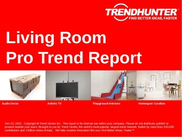 Living Room Trend Report and Living Room Market Research