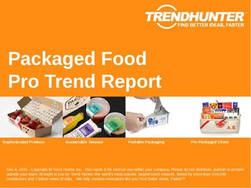 Packaged Food Trend Report and Packaged Food Market Research
