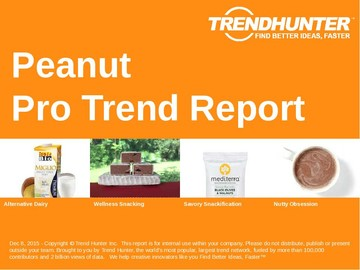 Peanut Trend Report and Peanut Market Research