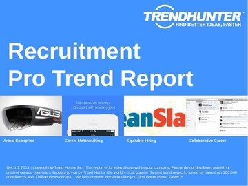 Recruitment Trend Report and Recruitment Market Research
