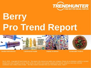Berry Trend Report and Berry Market Research