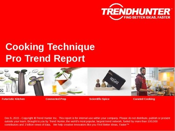 Cooking Technique Trend Report and Cooking Technique Market Research