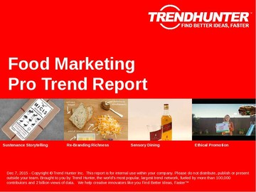 Food Marketing Trend Report and Food Marketing Market Research