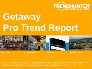 Getaway Trend Report and Getaway Market Research