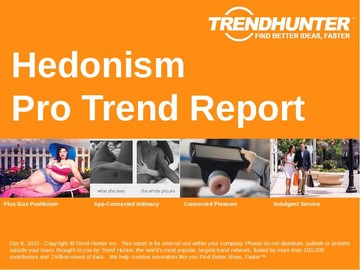 Hedonism Trend Report and Hedonism Market Research