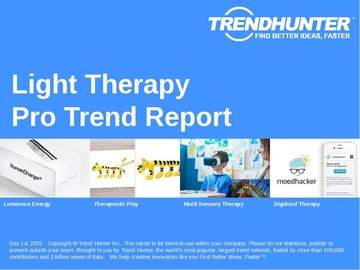 Light Therapy Trend Report and Light Therapy Market Research