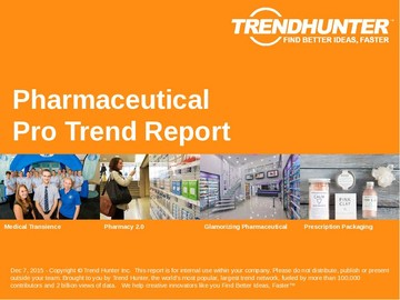 Pharmaceutical Trend Report and Pharmaceutical Market Research