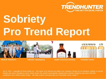 Sobriety Trend Report and Sobriety Market Research