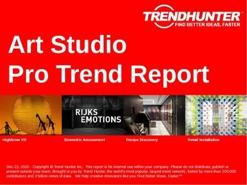 Art Studio Trend Report and Art Studio Market Research