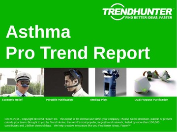 Asthma Trend Report and Asthma Market Research