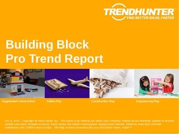 Building Block Trend Report and Building Block Market Research