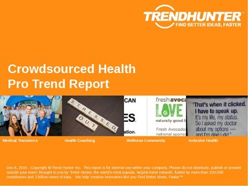 Crowdsourced Health Trend Report and Crowdsourced Health Market Research