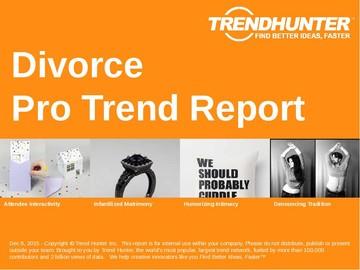 Divorce Trend Report and Divorce Market Research