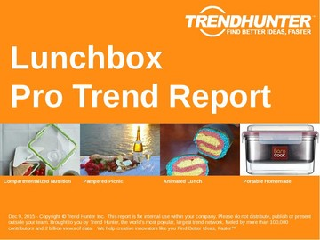 Lunchbox Trend Report and Lunchbox Market Research