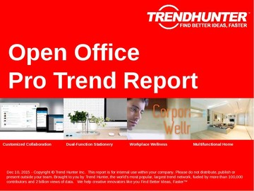 Open Office Trend Report and Open Office Market Research