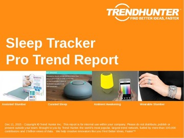 Sleep Tracker Trend Report and Sleep Tracker Market Research