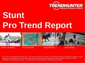 Stunt Trend Report and Stunt Market Research